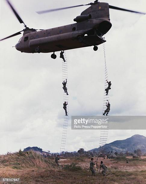 helicopter ladder ストックフォトと画像 getty images