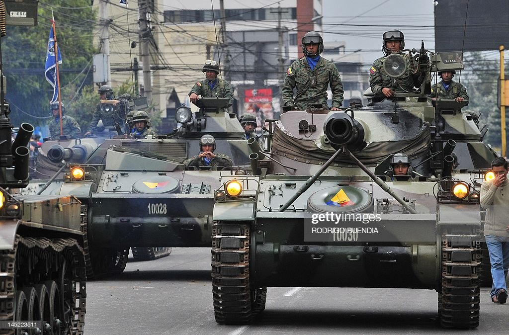 Soldiers parade commemorating the Day of : News Photo