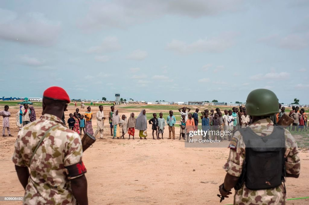NIGERIA-IDP-CAMP-REFUGEES-UNREST : News Photo