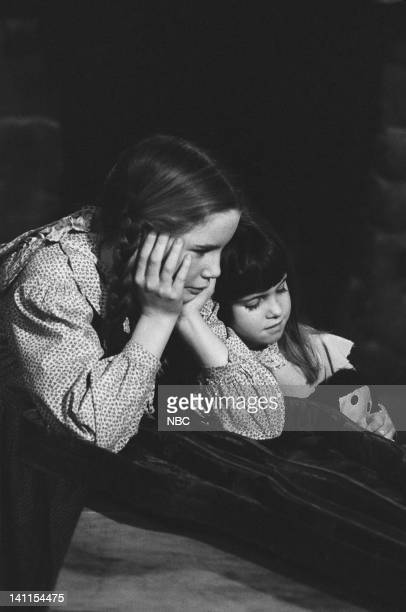 PRAIRIE 'Soldier's Return' Episode 21 Aired Pictured Melissa Gilbert as Laura Elizabeth Ingalls Wilder Lindsay or Sydney Greenbush as Carrie Ingalls...