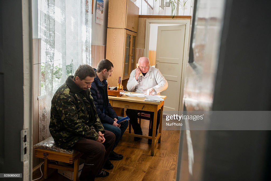 Ukrainian military hospital : News Photo