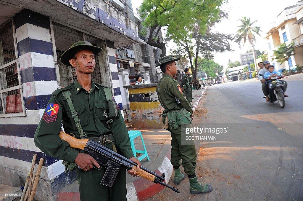 MYANMAR-UNREST-RELIGION : News Photo