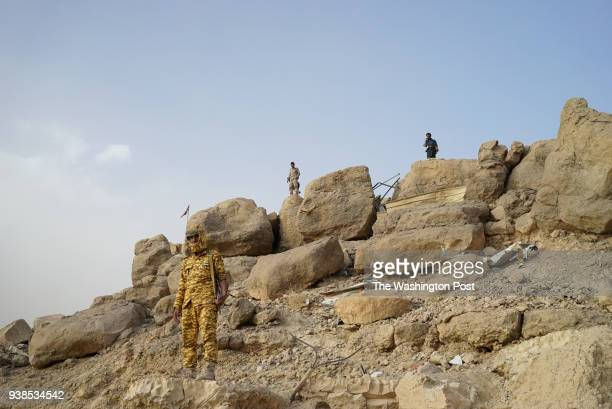 Soldiers standing guard near the Marib dam The northern province rich in oil is largely under control of government forces and defended by their main...