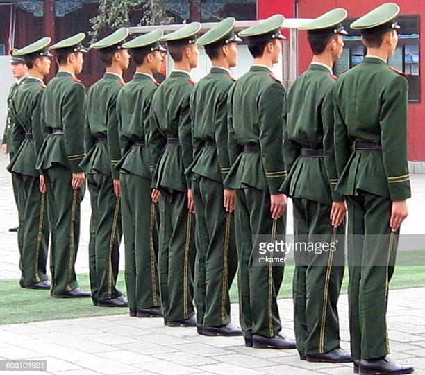 Soldiers, Tiananmen Square, Beijing, China