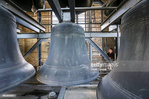 TORONTO ON MARCH 26 Soldiers' Tower is a bell and clock tower at the University of Toronto that commemorates members of the university who served in...