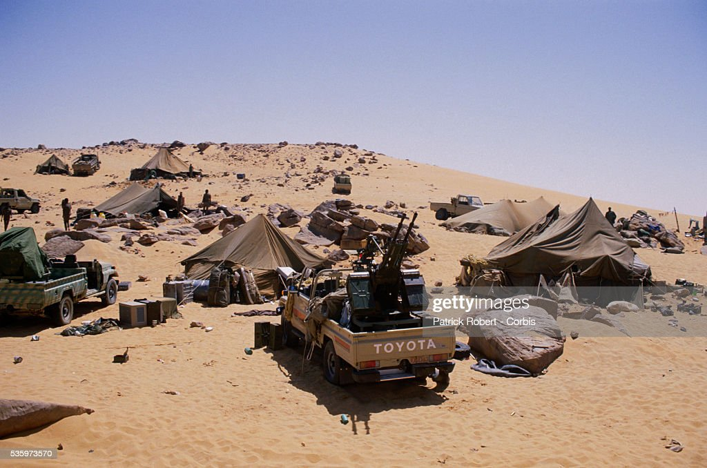 Chadian Troops Reconquer Northern Chad : News Photo