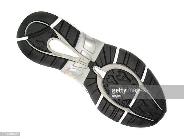 semelle isolé - chaussures noires photos et images de collection