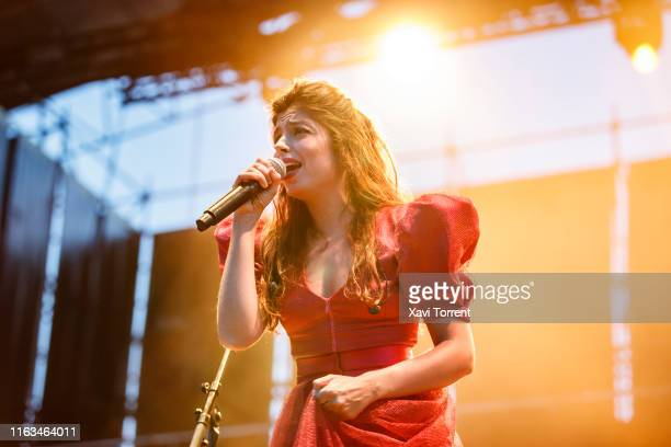 Solea Morente performs in concert during the Festival Internacional de Benicassim on July 21, 2019 in Benicassim, Spain.