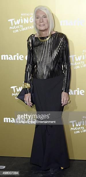 Soledad Lorenzo attends Marie Claire Prix de la Moda Awards 2015 at Callao cinema on November 19 2015 in Madrid Spain