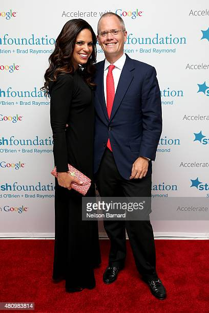 Soledad O'Brien and Brad Raymond attend Soledad O'Brien Brad Raymond Starfish Foundation Hosts Fifth Annual New Orleans To New York City Gala at...