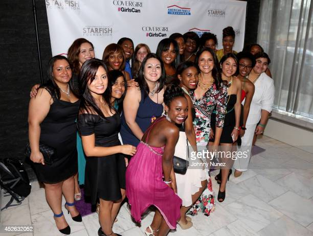 Soledad O'Brien and guests attend Soledad O'Brien Brad Raymond Starfish Foundation 4th Annual New Orleans To New York City Gala at Espace on July 24...