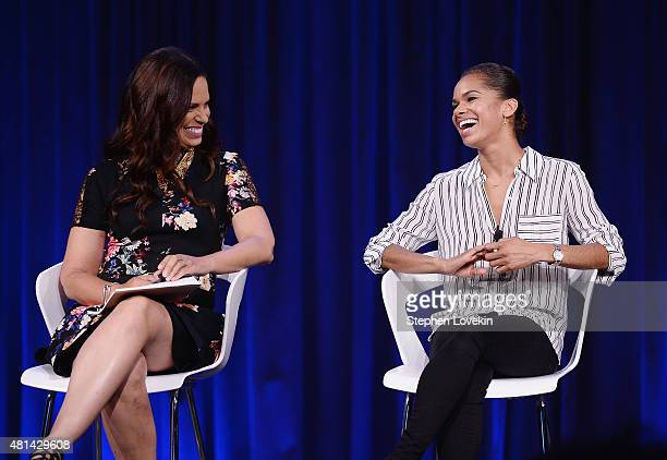 Soledad O'Brien and Misty Copeland attend The Starfish Foundation's 2015 PowHERful Summit at Google Campus on July 18 2015 in New York City