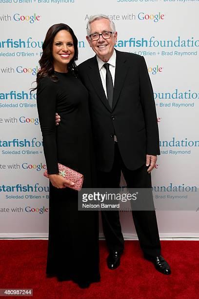Soledad O'Brien and Starfish Board Member Keith Reinhard attend Soledad O'Brien & Brad Raymond Starfish Foundation Hosts Fifth Annual New Orleans To...