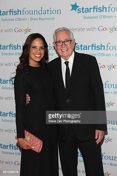 Soledad O'Brien and Starfish Board Member Keith Reinhard attend Soledad O'Brien Brad Raymond Starfish Foundation hosts Fifth Annual New Orleans to...