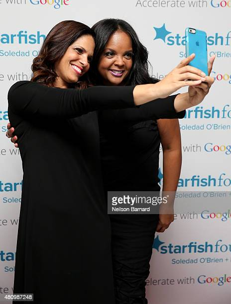Soledad O'Brien and Starfish Board Member Kim Bondy attend Soledad O'Brien Brad Raymond Starfish Foundation Hosts Fifth Annual New Orleans To New...