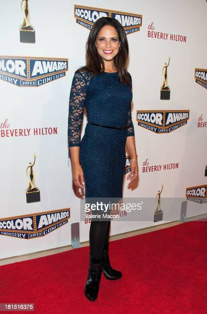 Soledad O'Brien arrives at the 2013 ADCOLOR Awards at The Beverly Hilton Hotel on September 21 2013 in Beverly Hills California