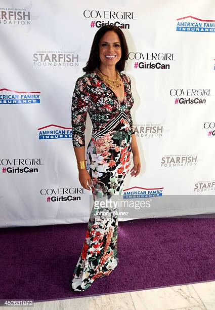 Soledad O'Brien attends Soledad O'Brien & Brad Raymond Starfish Foundation 4th Annual New Orleans To New York City Gala at Espace on July 24, 2014 in...