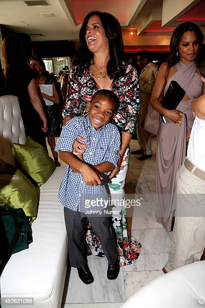 Soledad O'Brien attends Soledad O'Brien Brad Raymond Starfish Foundation 4th Annual New Orleans To New York City Gala at Espace on July 24 2014 in...