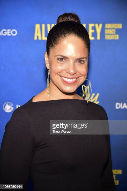 Soledad O'Brien attends the Alvin Ailey American Dance Theater's 60th Anniversary Opening Night Gala Benefit at New York City Center on November 28...