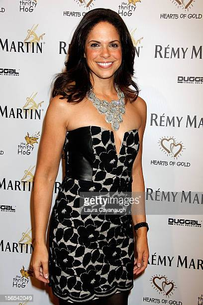 Soledad O'Brien attends the Hearts of Gold 16th annual Fall Fundraising gala and fashion show at Metropolitan Pavilion on November 16 2012 in New...