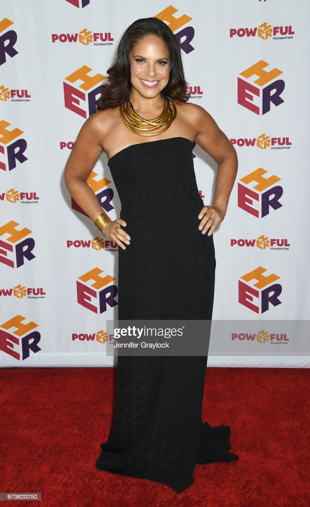 Soledad O'Brien attends the PowHERful Benefit Gala on June 13, 2018 at Tribeca Rooftop in New York City.