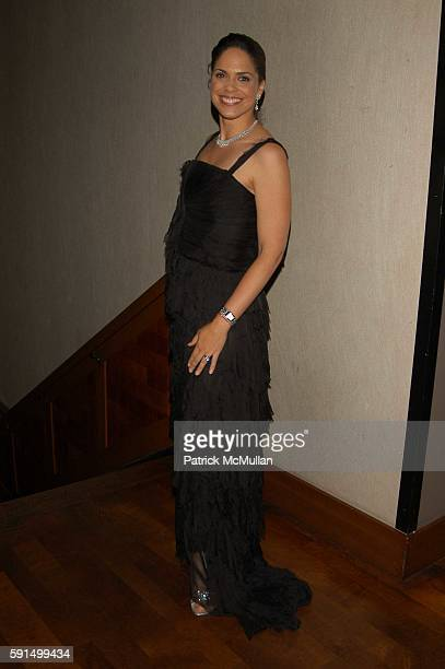 Soledad O'Brien attends Wayuu Taya Foundation Dinner at Tribeca Grand Hotel NYC USA on June 20 2005