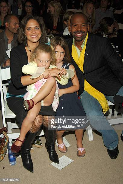 Soledad O'Brien Cecilia Raymond Sofia Raymond and Lloyd Boston attend Nanette Lepore Spring 2007 Fashion Show at The Promenade at Bryant Park on...