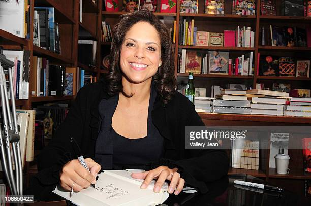 Soledad O'Brien discusses and signs her book The Next Big Story at Books and Books on November 7 2010 in Coral Gables Florida