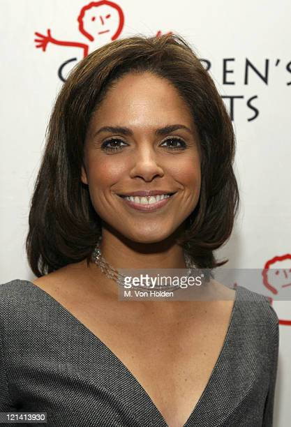 Soledad O'Brien during Inaugural Annual Children Rights Benefit October 5 2006 at Gotham Hall in New York City New York United States