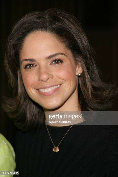 Soledad O'Brien during The Virtue Foundation hosted a Mukhtar Mai interview by CNN's Soledad O'Brien at United Nations in New York New York United...