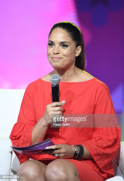 Soledad O'Brien speaks onstage at the 2017 ESSENCE Festival presented by CocaCola at Ernest N Morial Convention Center on June 30 2017 in New Orleans...