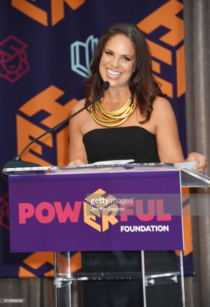 Soledad O'Brien speaks onstage during the PowHERful Benefit Gala on June 13, 2018 at Tribeca Rooftop in New York City.
