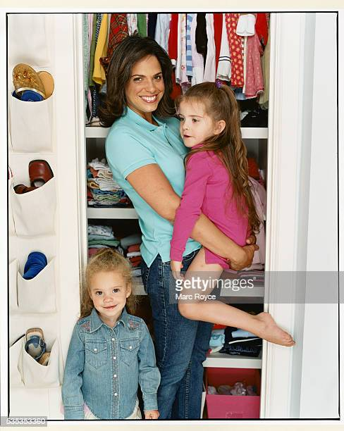 Soledad O'Brien with Daughters at Home