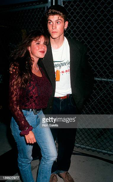 Solei Moonfrye and Brian Austin Green at the MTV Rock Jock BBall Game Loyola Marymount University Westchester