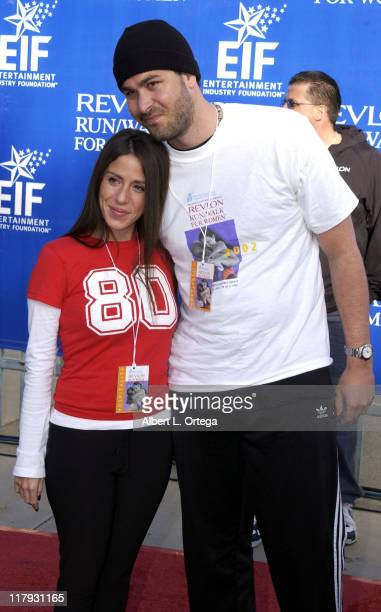 Soleil Moon Frye and husband Jason Goldberg during The 9th Annual Revlon Run/Walk For Women at Los Angeles Memorial Coliseum in Los Angeles...