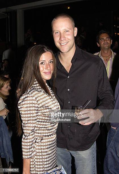 Soleil Moon Frye and Michael Rosenbaum during Michael Rosenbaum's Birthday Celebration at Falcon in Hollywood California United States