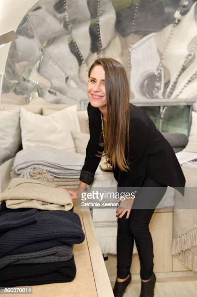 Soleil Moon Frye attends Jenni Kayne Home Collection Launch at Malibu Farm on October 11 2017 in Malibu California