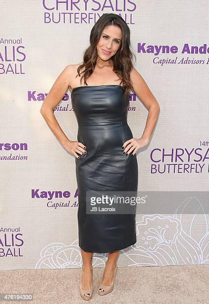 Soleil Moon Frye attends the 14th annual Chrysalis Butterfly Ball sponsored by Audi Kayne Anderson Lauren B Beauty and Z Gallerie on June 6 2015 in...