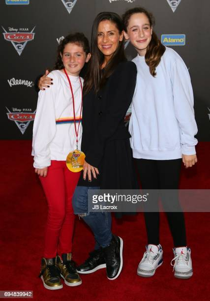 Soleil Moon Frye attends the premiere of Disney and Pixar's 'Cars 3' on June 10 2017 in Anaheim California
