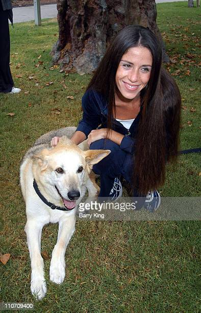 Soleil Moon Frye during 4 Paws For A Cure Dogwalk to Fun National Childhood Cancer Foundation at La Brea Tar Pits in Los Angeles, California, United...