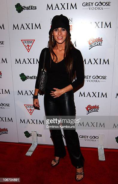Soleil Moon Frye during Maxim and Artisan Home Entertainment Proudly Present 'Reservoir Dogs' Ten Years Later at Trust in New York City New York...