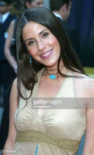 Soleil Moon Frye during NBC 75th Anniversary at Rockefeller Plaza in New York City New York United States