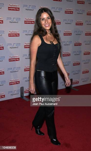Soleil Moon Frye during Playstation 2 Party at The Standard Downtown Los Angeles at The Standard in Los Angeles California United States