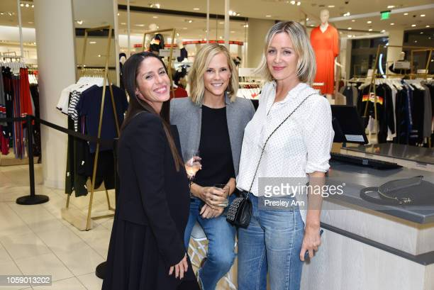 Soleil Moon Frye Erinn Bartlett and Ali Taekman attend Jenni Kayne Nordstrom Popup Dinner on November 07 2018 in Los Angeles California