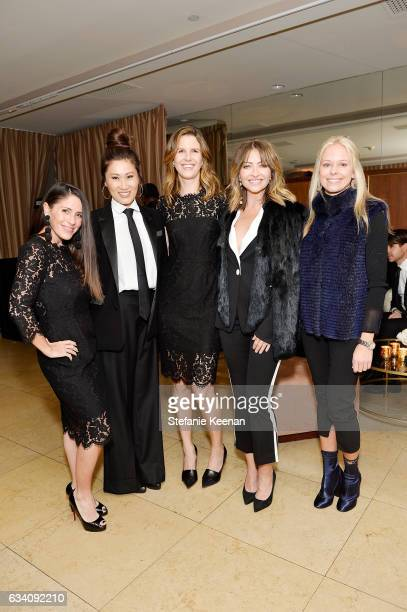 Soleil Moon Frye, Irene Roth, Candice Nelson, Rebecca Dane and Shannon Rotenberg attend Rachel Zoe's Los Angeles Presentation at Sunset Tower Hotel...