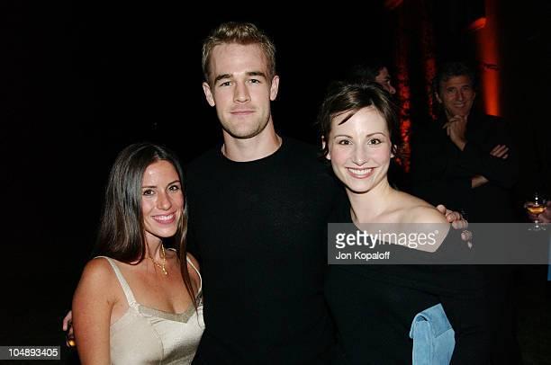 Soleil Moon Frye, James Van Der Beek and wife Heather McComb