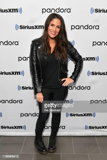 Soleil Moon Frye visits SiriusXM Studios on November 20, 2019 in New York City.