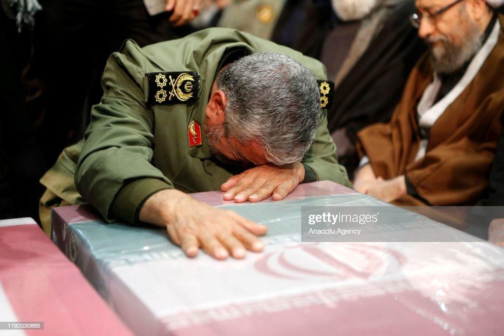 Funeral of Qasem Soleimani in Iran : News Photo