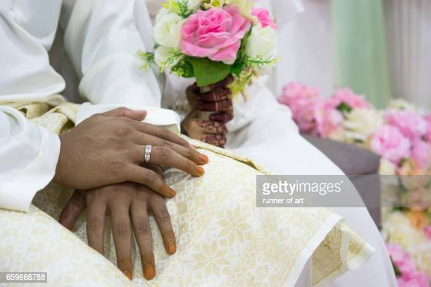 Solemnization of bride and groom