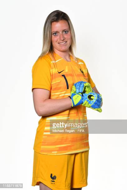 Solene Durand of France poses for a portrait during the official FIFA Women's World Cup 2019 portrait session at Hotel Clairefontaine on June 04 2019...